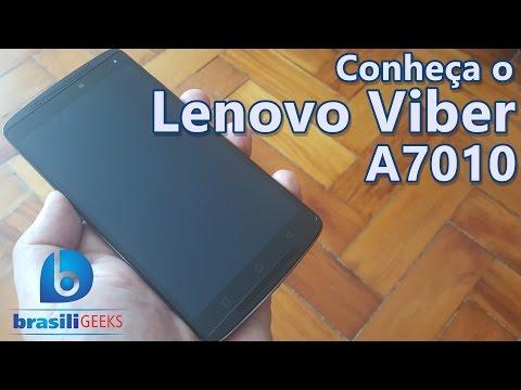 Lenovo Vibe A7010 - O concorrente do Moto X Play!!!