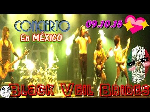 Concierto🎤🎶Black Veil Brides💀en MÉXICO 9.10.15 - Pepsi Center / Em Hernández💖