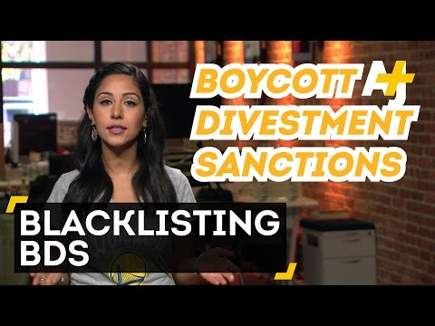 Is New York Blacklisting The BDS Movement?