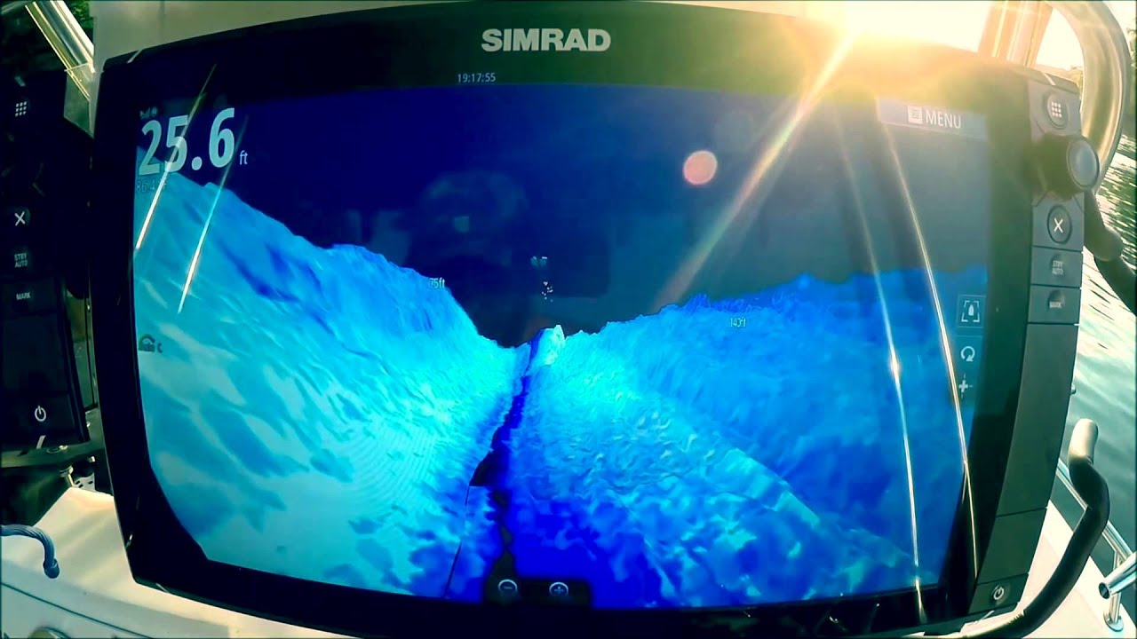 Simrad structurescan 3d first look youtube for 3d fish finder