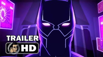 MARVEL'S AVENGERS: BLACK PANTHER'S QUEST Official Trailer (HD) Disney XD Series