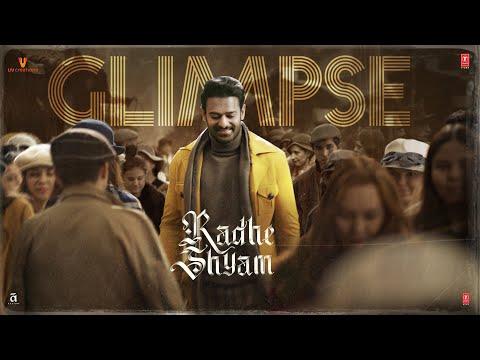 RADHE SHYAM (TEASER) PRABHAS, POOJA H | BHUSHAN K | RADHA K KUMAR | VAMSI PRAMOD | MITHOON