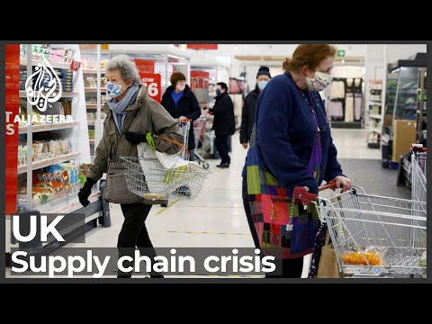 UK supply chain crisis leads to worst food shortages since 1970s