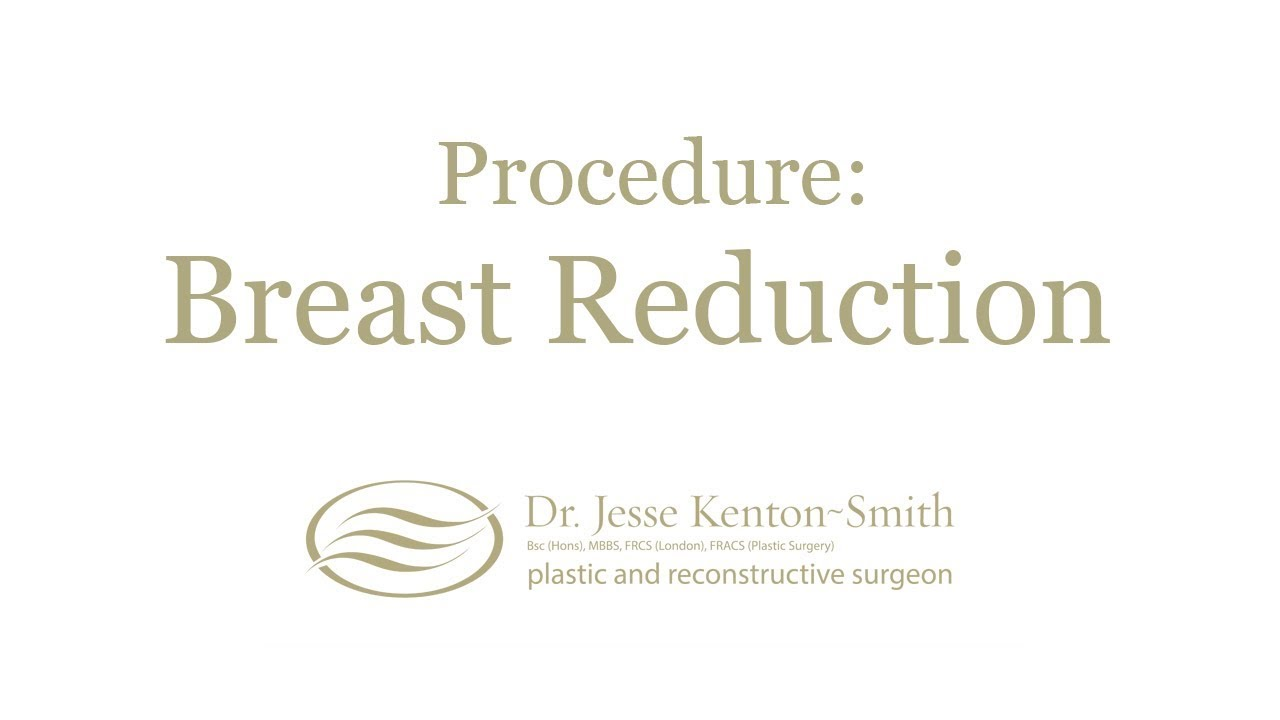 Breast Reduction Plastic Cosmetic Surgeon Christchurch Nz