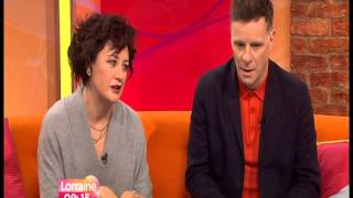 deacon blue with  lorraine kelly