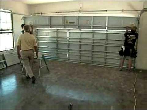 Lovely Tutorial   Hurricane Resistant Garage Doors