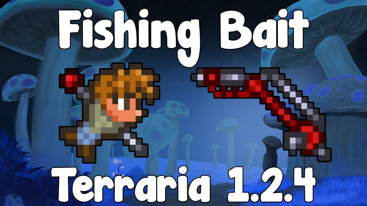 fishing bait how to start out terraria 1 2 4