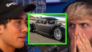 ZACH KING DRIVES A WHAT?