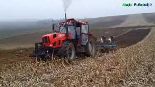 Ciężka Orka 2015 :) Ursus 1224 i Lemken + Wtopa Claas I John Deere. Ryk silnika Traktory w Błocie.