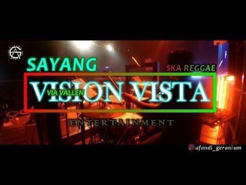 SAYANG - Via Vallen - DRUM CAM ska reggae