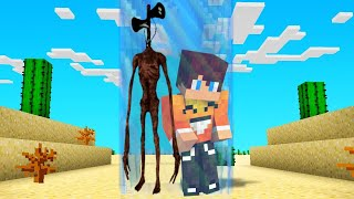 Download Minecraft, ale NIE MOGĘ OPUŚCIĆ BARIERY z SIREN HEAD!