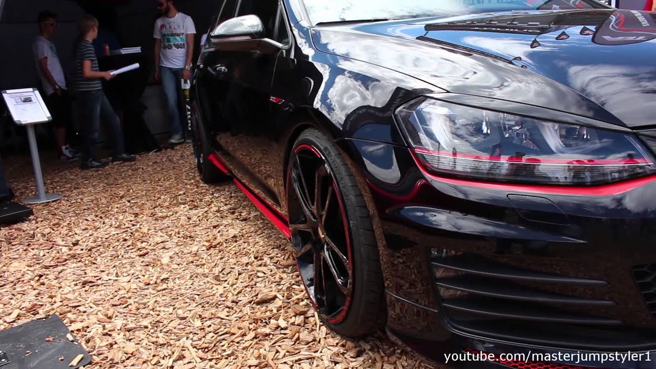 abt golf vii gti dark youtube. Black Bedroom Furniture Sets. Home Design Ideas