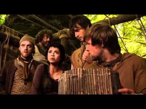 Robin Hood   2x02   the booby and the beast were winning