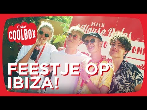 CokeTV Beach House winnaars op IBIZA! - Coolbox
