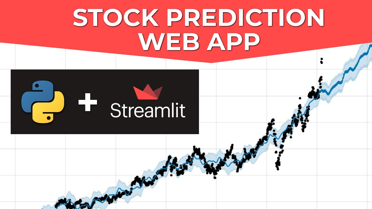 Build A Stock Prediction Web App In Python