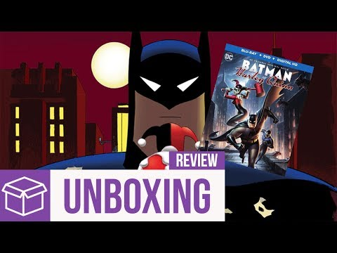 Batman and Harley Quinn Blu Ray Unboxing + Review (Digital HD Giveaway)