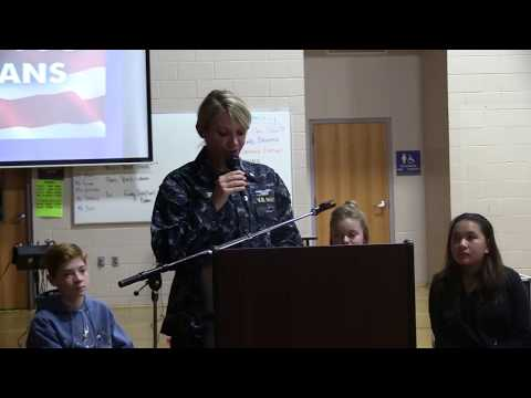Veterans Day Program 2017   North Whidbey Middle School