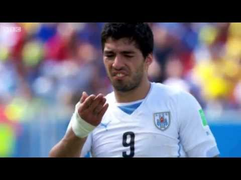 BBC FIFA World Cup 2014 - Announcement: Luis Suarez banned after biting player