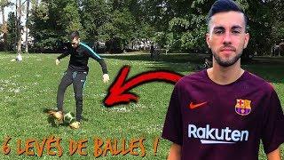 6 DIFFÉRENTS LEVÉS DE BALLES DE FAÇON STYLÉS !!