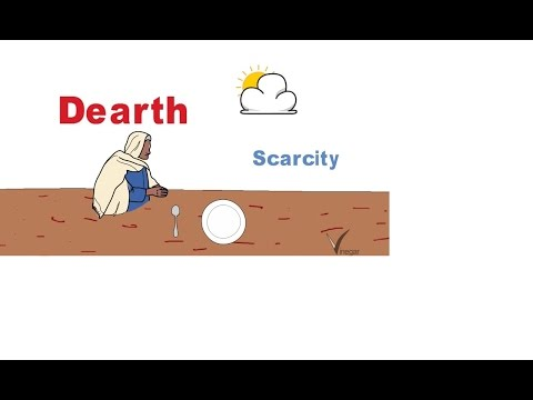 Dearth Meaning In English And Hindi With Usage