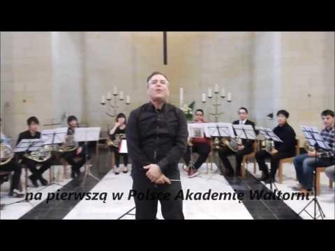 Akademia Waltorni - zaproszenie - prof. Will SANDERS