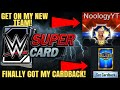 GET ON MY NEW WRESTLEMANIA 33 TEAM IN WWE SUPERCARD! KOTR AND FINALLY GOT MY HALL OF FAME CARDBACK!