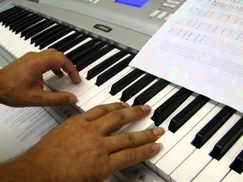 Piano (Organ) for Samba Pa Ti