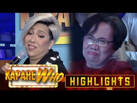 Vice Ganda reveals that mommy Rosario is looking for a partner | It's Showtime KapareWho