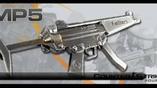 [UG-39] Kolekcjonerski breloczek broń replika karabin MP5 (Counter-Strike) [www.safetrade.pl]