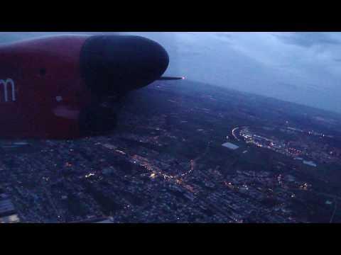 Air Berlin Dash 8 Q400 Stuttgart Takeoff Runway 25