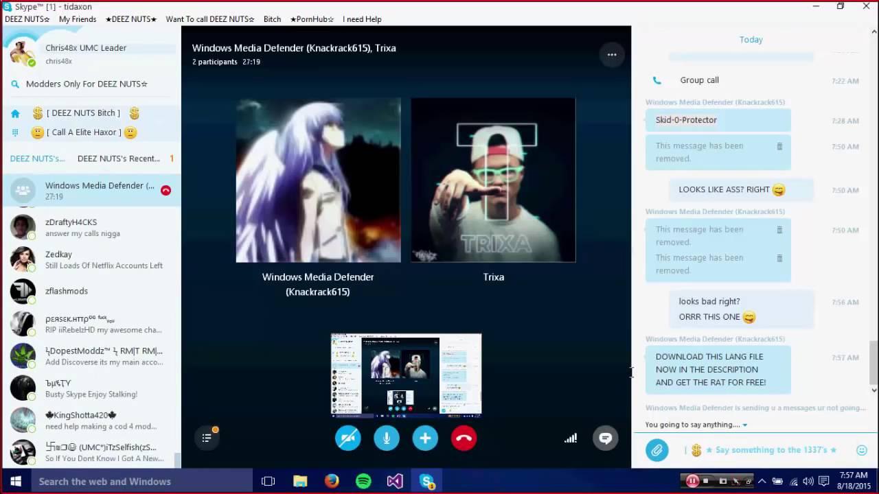 Skype sexy
