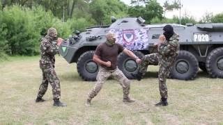 1 комплекс специальных упражнений рукопашного боя.