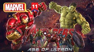Avengers Age Of Ultron Explained In Hindi   MCU Movie 11 Explained in Hindi   Hitesh Nagar