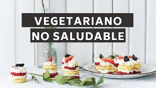 Puedes seguir una dieta vegetariana y aún así no estar saludable