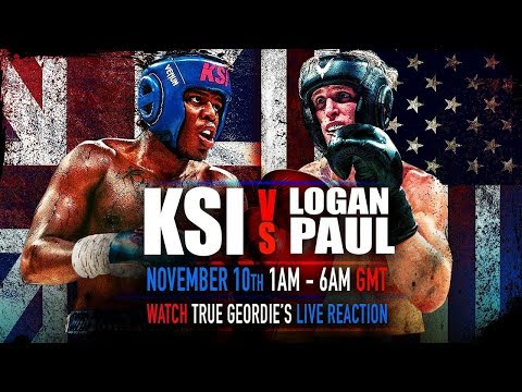 KSI Vs LOGAN PAUL - Live Match Full HD (REAL!!)!!!