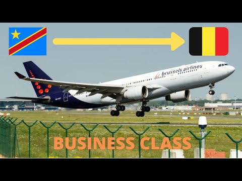 TRIP REPORT | Brussels Airlines | Business Class | Kinshasa to Brussels