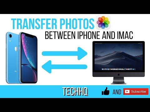 Transfer Photos Between IPhone And IMac