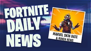 *MARVEL* SKIN 2 KOMMT - Fortnite Daily News (29 April 2019)