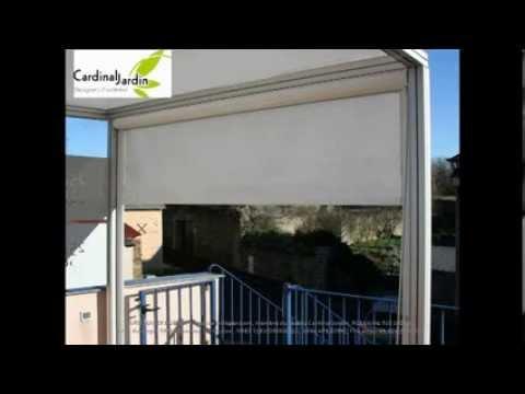 terrasse bois composite et pergola alu sur un toit youtube. Black Bedroom Furniture Sets. Home Design Ideas