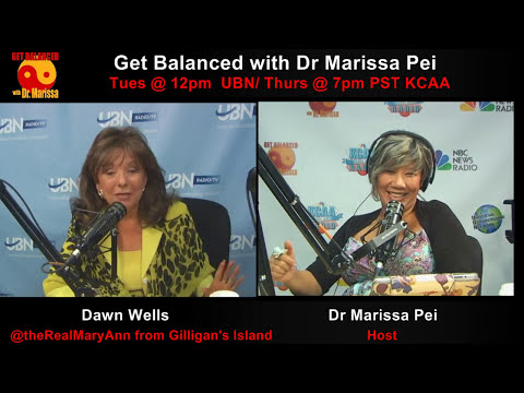 MaryAnn from Gilligans Island interviews Dr. Marissa about CNN (Constantly Negative News ;)