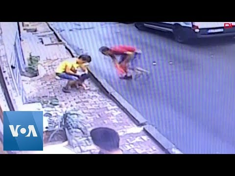 Algeria Man Saves Baby Falling From 2nd-Floor Window In Turkey