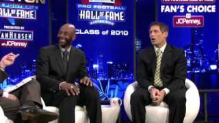 Jerry Rice 2010 NFL Hall Of Fame!