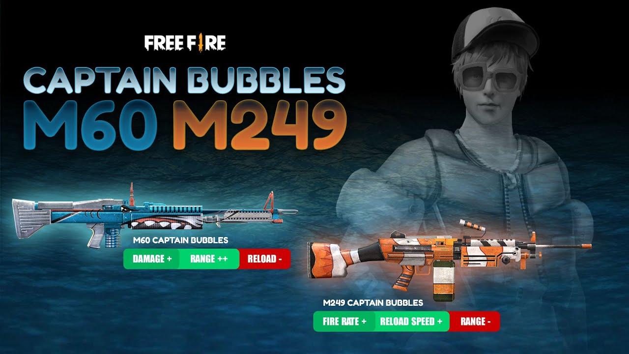 M60 Captain Bubbles | Wajib Koleksi Bagi Pecinta M60!