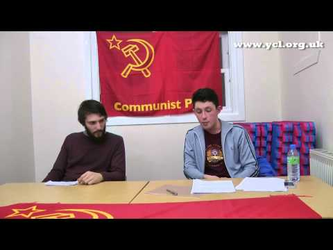 The Case for Communism: Young Communist League YCL Paisley