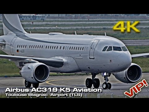 Airbus AC319 Private [4K] VIP K5 Aviation (TLS)