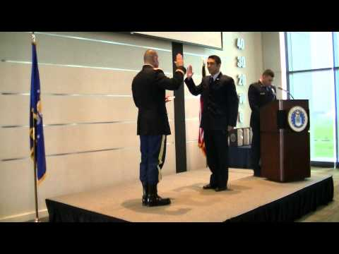 University of North Texas AFROTC Commissioning 2013
