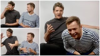 """""""Let's Talk About Sex, Baby"""" Taron Egerton and Pedro Pascal Showing Off Singing Skills In Interview"""