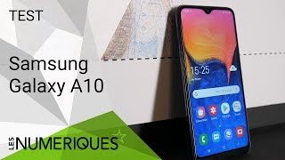 Samsung Galaxy A10 : On l'a testé !