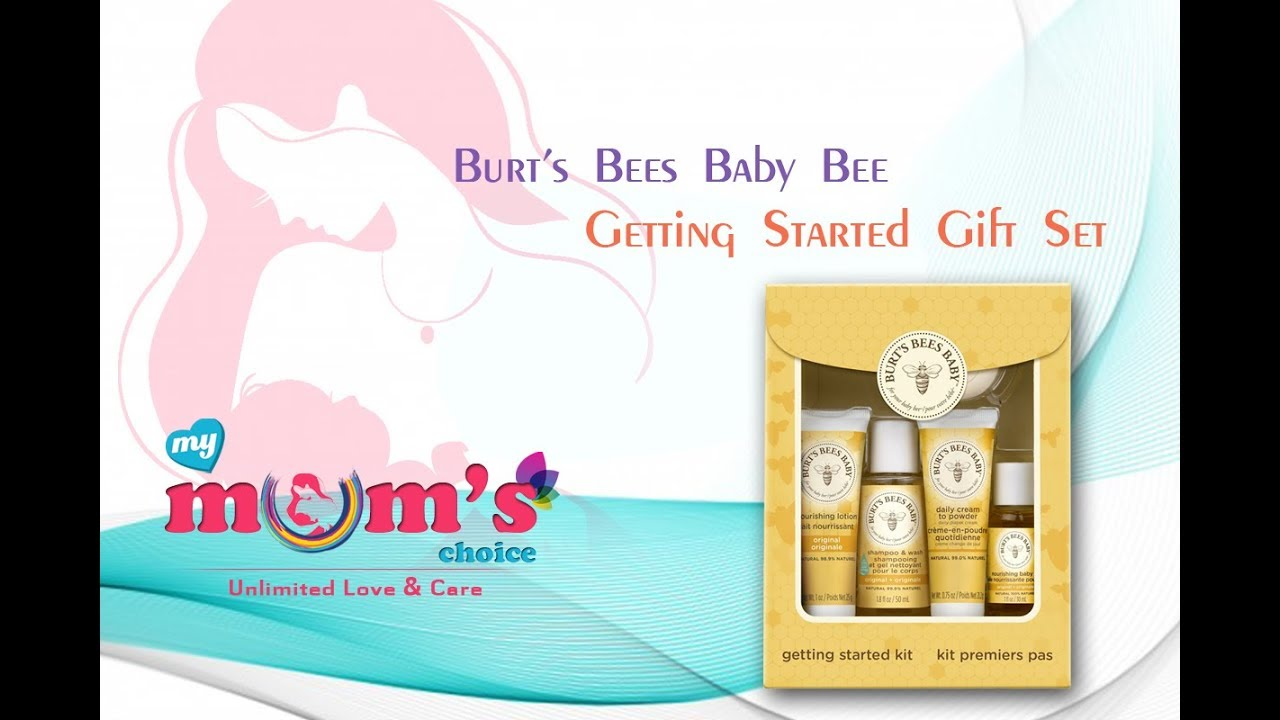burt u0027s bees baby bee getting started kit baby care natural