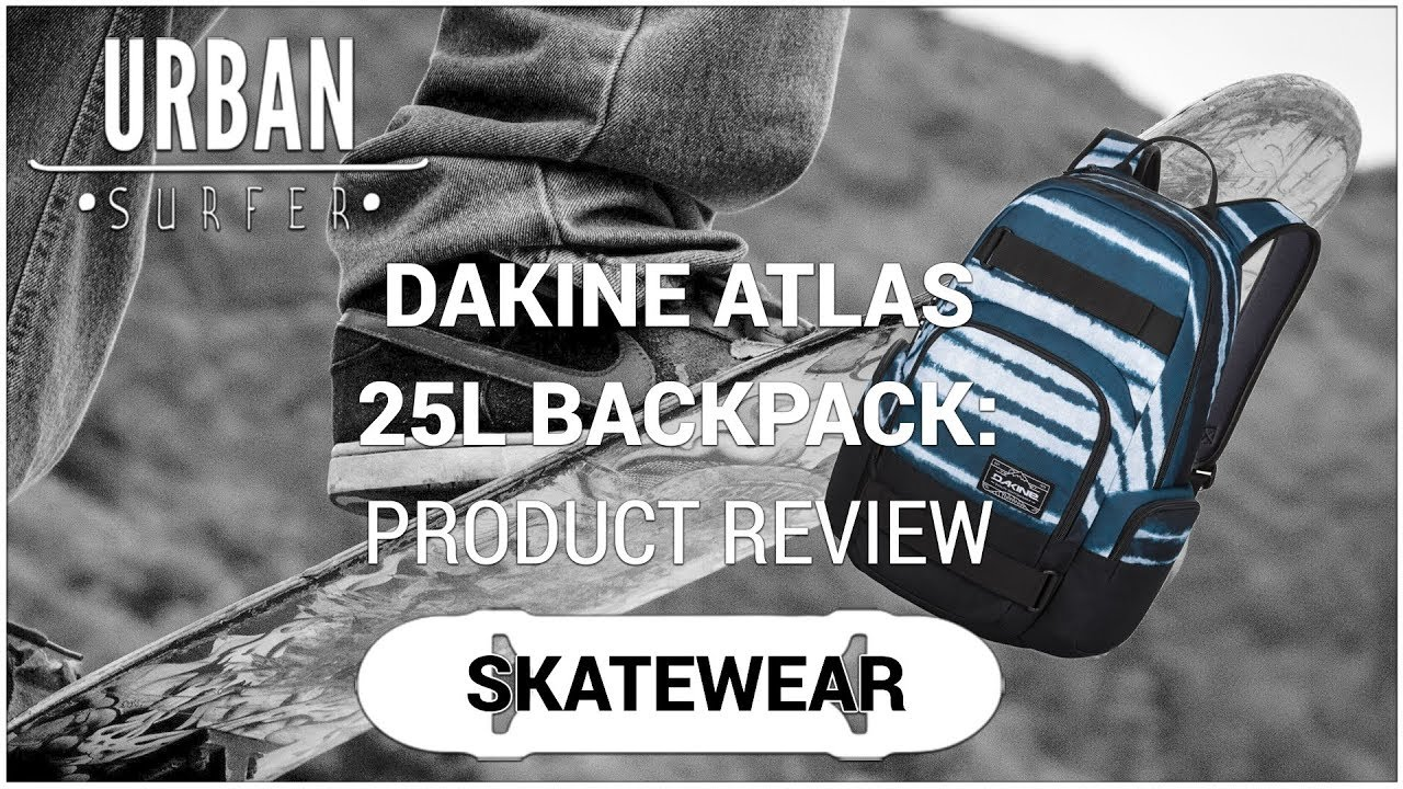 01c49edf9b0 Dakine Atlas 25L Backpack: Product Review - YouTube